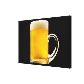 Foamy Beer Mug Gallery Wrap Canvas