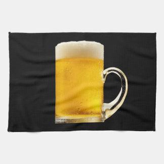 Foamy Beer Mug Kitchen Towels