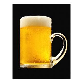Foamy Beer Mug Letterhead