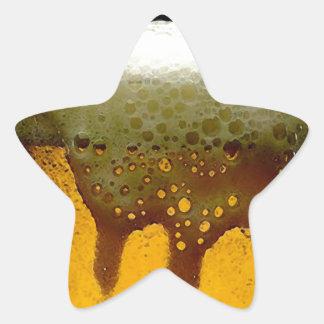 Foamy Beer Star Sticker
