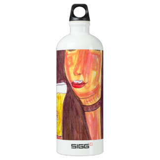 Foamy Beer Water Bottle