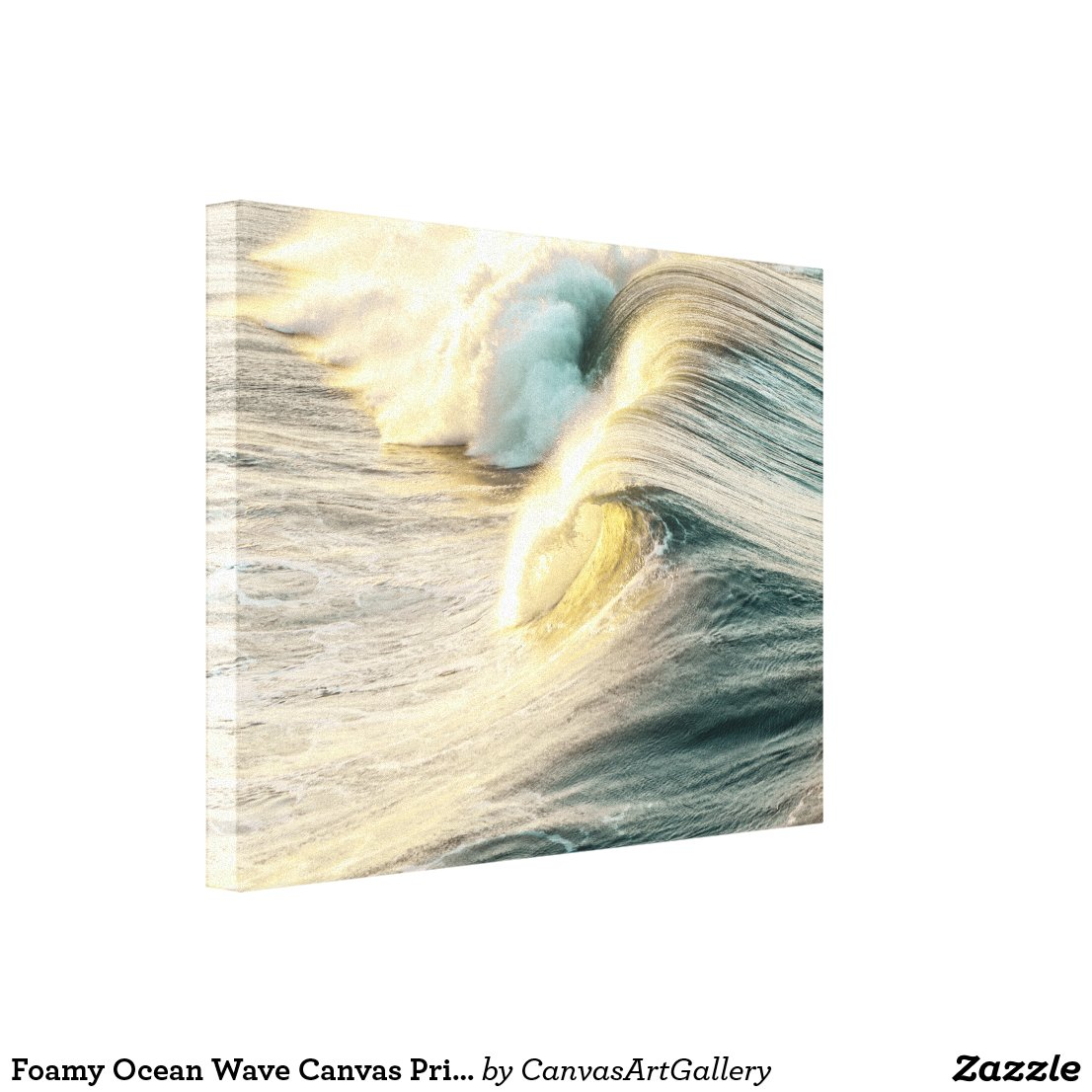 Foamy Ocean Wave