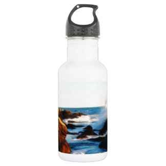 foamy seaside 2 water bottle