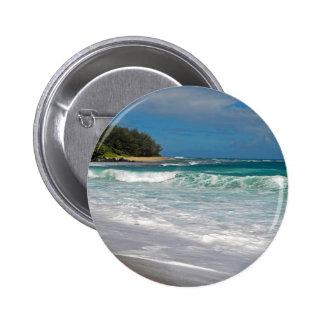 Foamy Surf Pinback Button