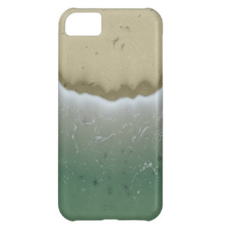 Foamy Waves Background. Stylish Wave Noise Pattern iPhone 5C Cover