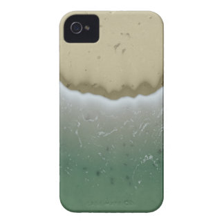 Foamy Waves Background. Stylish Wave Noise Pattern iPhone 4 Covers