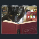 """FOAS 2017 Calendar<br><div class=""""desc"""">The Friends of Oakland Animal Services (FOAS) 2017 calendar features life advice from rescued pets. All proceeds benefit the animals at Oakland Animal Services.</div>"""