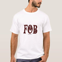 FOB (Father of Bride) T-Shirt Brown