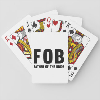 FOB PLAYING CARDS