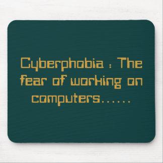 Fobia al ordenador: El miedo del trabajo en los or Tapetes De Raton