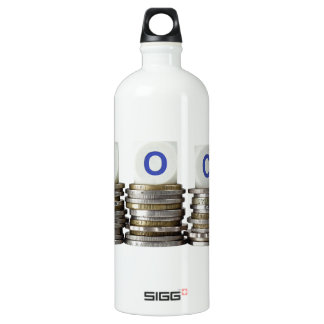 FOC - Free of Charge Aluminum Water Bottle