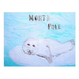Foca de Groenlandia de Polo Norte Postal