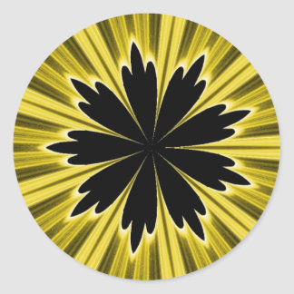 Focal Point Yellow Stickers