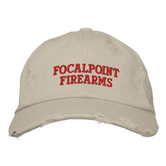 FocalPoint Firearms Distressed Chino Cap