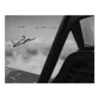 Focke-Wulf 190D Fighters Close In. Postcard