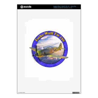 Focke Wulf Fw 190 War Bird Airplane Plaine WarBird iPad 3 Skin