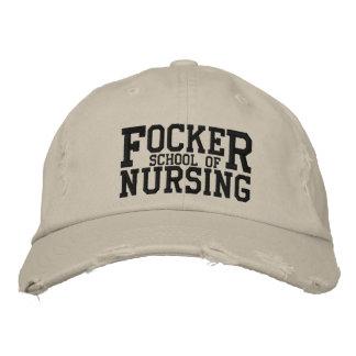 Focker School of Nursing Funny Parody Embroidered Baseball Hat