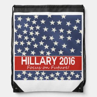 Foco de Hillary el futuro Mochilas