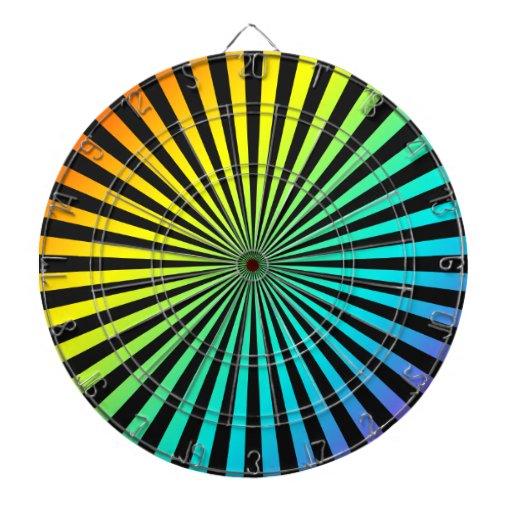 foco del arco iris tablero dardos