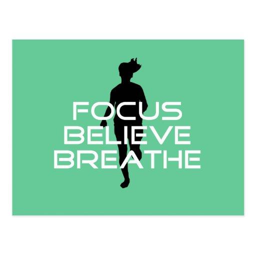 Focu Believe Breathe Postcards
