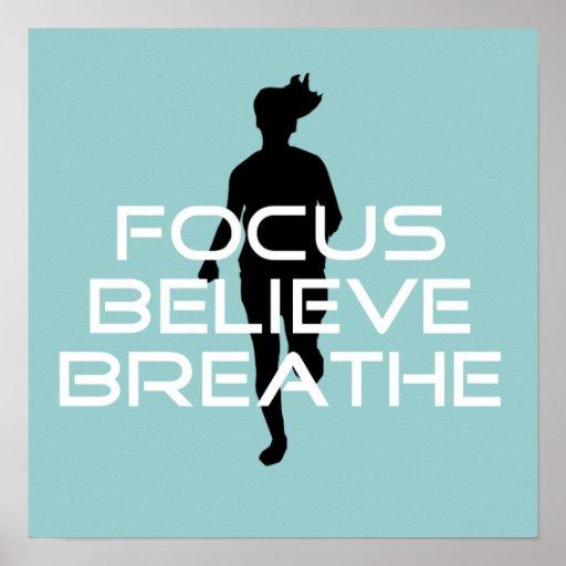 Focu Believe Breathe Print