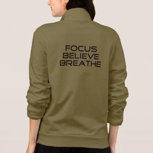 Focus Believe Breathe T-shirts