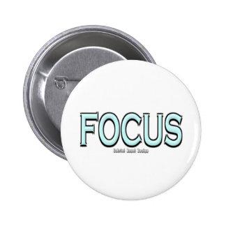 Focus Pinback Buttons