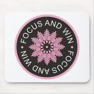 ~Focus de 3 citas de la palabra y ~motivational Alfombrilla De Ratones