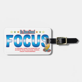 Focus Dr Bum Head Luggage Tags