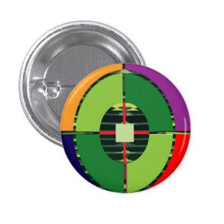 FOCUS Green Target EARTH  Global Warming NVN255 Pinback Buttons