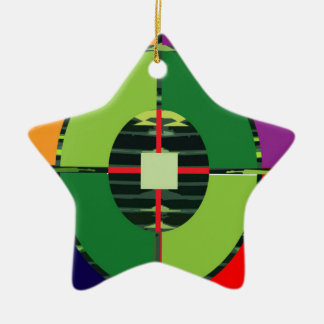 FOCUS Green Target EARTH  Global Warming NVN255 Christmas Tree Ornament
