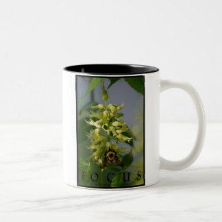 Focus Inspirational Message Office Coffee Mug Art