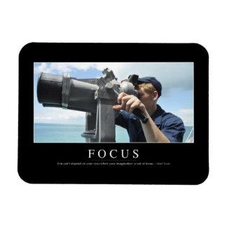 Focus: Inspirational Quote 2 Magnet