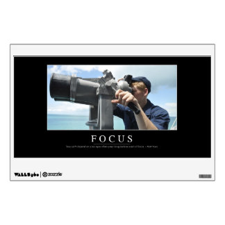 Focus: Inspirational Quote 2 Wall Sticker