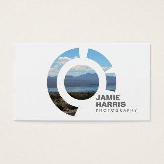 FOCUS LOGO I for PHOTOGRAPHER Business Card