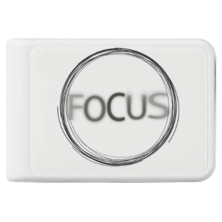 Focus Logo Typography Trendy Designs Power Bank