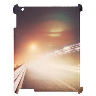 Focus of headlight on highway case for the iPad 2 3 4
