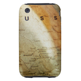 Focus of Russia on Globe iPhone 3 Tough Covers