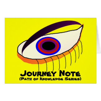 Focus On Caring Journey Note Greeting Card