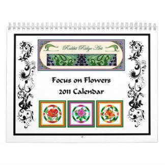 Focus on Flowers - 2011 Calendar