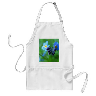 Focus On Forget-Me-Nots Adult Apron