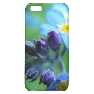 Focus On Forget-Me-Nots Cover For iPhone 5C