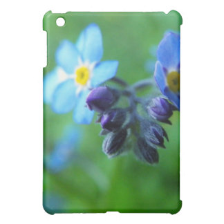 Focus On Forget-Me-Nots iPad Mini Cover