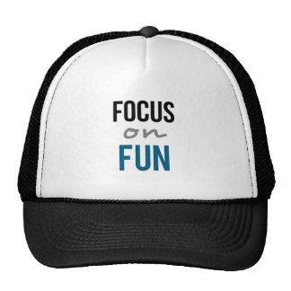 Focus On Fun Trucker Hat