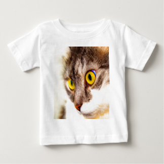 focus on goal and success cat eyes t-shirt