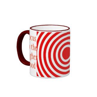 Focus on the Higher Good Foc Coffee Mugs