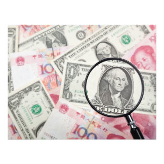 """Focus on US currency 8.5"""" X 11"""" Flyer"""