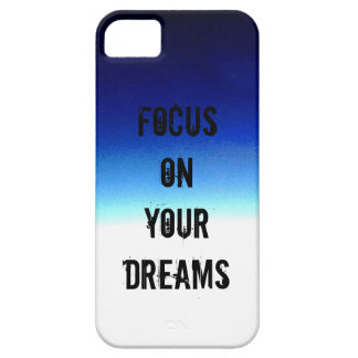 Focus On Your Dream iPhone SE/5/5s Case