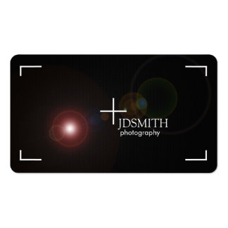 """""""focus"""" Photography Business Cards"""
