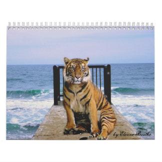 Focus & Strength_2010 Calendar-by Elenne Boothe Calendar